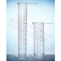 cylinder SAN kl.B skala tłoczona WYSOKI 0010ml:02ml