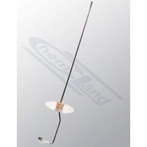łyżeczka do spalań wykonanie stal nierdzewna fi20 mm z osłoną fi 60mm długość 300mm