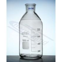 butelka z BORO 3,3  01000  WS 29/32  SiO2>80,5%