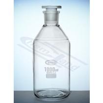 butelka z BORO 3,3  01000  WS 29/32  SiO2>80,5% Glassco korek PP