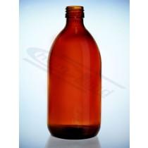butelka farmaceutyczna oranż 1000ml bez nakrętki