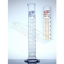 cylinder Kl B sk. brąz 0100 ml stopa szk sześciok.