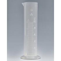 cylinder PP niski z wylewem sk. tłoczona 0250ml