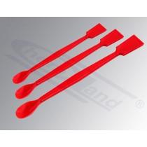 łyżeczko szpatułka z PP. czerwona długość 180mm