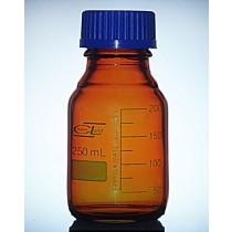 butelka z nakrętką oranż BORO 3.3  GL 45  0100ml