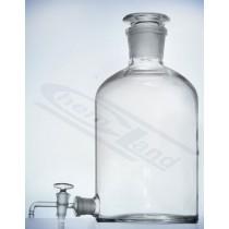 butelka z korkiem i tubusem 02500ml +kran