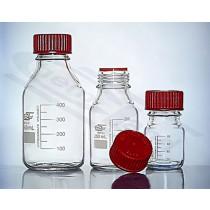 butelka z nakrętką czerwoną 0100ml do 200 oC