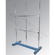podstawa wielofunkcyjna TYP - 1 wyk. żeliwne podst.500x250mm pręt 3x10x800mm + 2x10x400mm