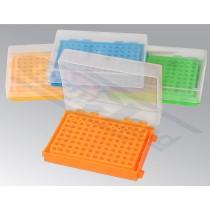 .statyw do PCR 0,2ml 96-miejscowy rózne kolory, numerowane otwory